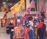 Fotballfeiring i Barcelona Foto:Wikimediacommons