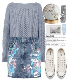 """95"" by erohina-d ❤ liked on Polyvore featuring beauty, Marc by Marc Jacobs, Topshop, Bellerby & Co, Converse, Polaroid and Drybar"