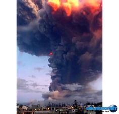 Извержение вулкана Тунгурауа в Эквадоре усиливается (видео)