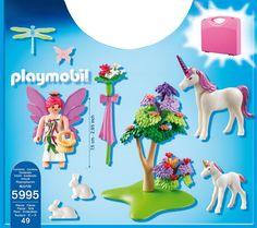 Playmobil - 5995 - Jeu de Construction - Valisette Fée et Licornes: Amazon.fr: Jeux et Jouets