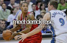 Meet Derrick Rose.