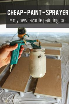 After starting on our kitchen remodel back in the spring of this year, I started looking into the idea of using a paint sprayer. But everything I was finding, that had good reviews, was more t…