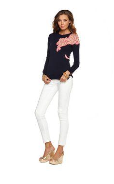6bddd8b1a5d153 LP Resort 2013 Charter Sweater Big Closets, Lilly Pulitzer, Winter  Wardrobe, Shirt Outfit
