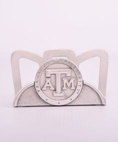 Texas A&M Aggies Heritage Pewter Card Holder