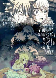 Nalu I love fairy tail and I love almost all the girl characters I know right now except Lucy. She is so stupid. All she does is cry. She is about as useful as Sakura from naruto - Fairy Tail Nalu, Fairy Tale Anime, Fairy Tail Natsu And Lucy, Fairy Tail Love, Fairy Tail Ships, Fairy Tales, Fairytail, Gruvia, Fairy Tail Family
