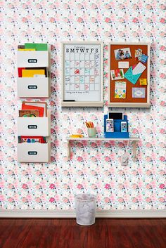 The 1 Organizing Hack That Will Keep Your Whole Family's Stuff Together Organisation Hacks, Household Organization, Thinking Chair, Family Command Center, Command Centers, Paper Trail, Study Space, Family Organizer, Organizing Your Home