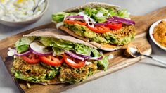 Zucchini Fritter Gyros Recipe - Vegetarian Times