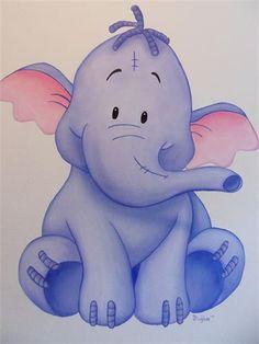 Debzys muurschildering - Lollifant