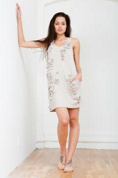 3.1 Phillip Lim Rosette tank dress found on Bib + Tuck #bibandtuck #31philliplim #philliplim #rosette #rosettetank #dress #spring #summer