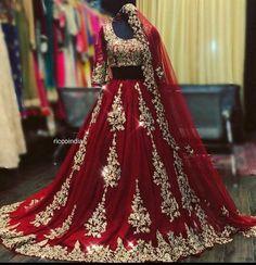 May 2020 - Embroidered red georgette Lehenga choli dupatta party wear wedding wear bridal lengha blouse indian dress lengaha choli custom stiched dress Asian Bridal Dresses, Pakistani Wedding Outfits, Indian Bridal Outfits, Pakistani Bridal Wear, Pakistani Wedding Dresses, Indian Dresses, Punjabi Wedding, Prom Dresses, Dress Prom