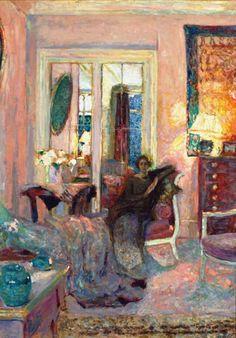 Princess Bibesco   -  Edouard Vuillard  ca.  1920  Post-impressionism