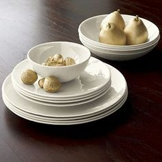 Murano Cream Dinnerware- have the plates and want the bowls :)