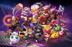 Super Smash Bros Melee Poster Update by danimation2001 on DeviantArt