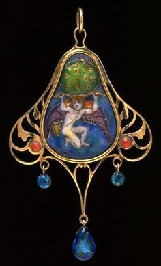 Phoebe Traquair cupid the earth upholder. Phoebe Anna Traquair was an Irish artist, noted for her role in the Arts and Crafts movement in Scotland, as an illustrator, painter and embroiderer.