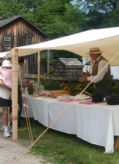 FOOD LOVERS' FIELD DAYS - Upper Canada Village Field Day, Summer Kitchen, My Happy Place, Ontario, Special Events, Gazebo, Places To Visit, Canada, Lovers