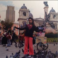 We wish Namita a fantastic journey exploring Bolivia. :)