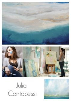 Artist Spotlight. Painter Julia Contacessi