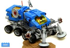 Lego NCS exploration vehicle