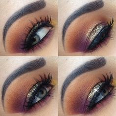 Color combo, just tone down the blending & don't go past the crease