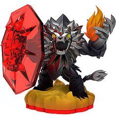 Skylanders Trap Team - Dark Wildfire (Trap Master) [Fire] Character
