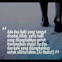 Mutiara Kata Hadist Silaturahmi Reminder Quotes, Self Reminder, Muslim Quotes, Islamic Quotes, Islamic Pictures, Change Is Good, Quran, Wise Words, Religion