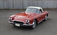 1962 Chevrolet Corvette. Timeless and perfect.