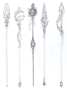 Search 'Angelic/Staff' on DeviantArt - Discover The Largest Online Art Gallery and Community - Angel Staff Ideas 001 by EverlastingLace (i like the 2 on the far left) - Wizard Staff, Art Reference Poses, Creature Art, Wings Drawing, Art Reference Photos, Art Sketches, Dark Art Drawings, Art Tutorials, Online Art Gallery