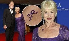 Helen Mirren pays tribute to Prince as she attends White House Correspondents' Association Dinner | Daily Mail Online