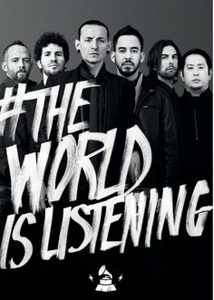#TheWorldIsListening to Linkin Park  Share your sound on GRAMMYAmplifier.com