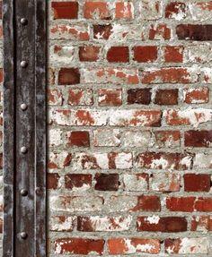 #shopping #wallpaper steen baksteen steenstrips 3D behang