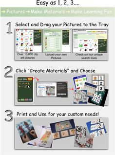 Lesson Pix for customized materials