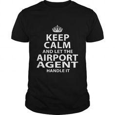 AIRPORT AGENT T Shirts, Hoodies, Sweatshirts. CHECK PRICE ==► https://www.sunfrog.com/LifeStyle/AIRPORT-AGENT-118132234-Black-Guys.html?41382