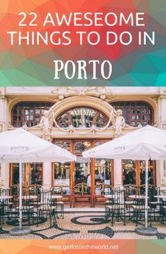 22 things to visit in Porto. Travel guide to Porto, Portugal. What to visit in Porto. Guide to Porto. #travelguide #traveltips #europe #porto #portugal #thingstodo