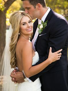 20 Veiled Wedding Hairstyles for Long Hair | TheKnot.com