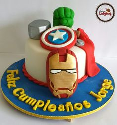Avengers cake