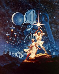 The first Star Wars art you ever fell in love with!