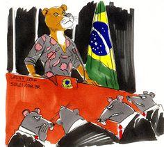CULTURA,   ESPORTE   E   POLÍTICA: A consciência tranquila de Dilma. Pode-se dizer o ...
