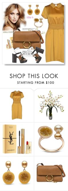 """""""Summer date"""" by lila2510 ❤ liked on Polyvore featuring Bea Yuk Mui, Balmain, Nearly Natural, Yves Saint Laurent, Chloé and Pierre Hardy"""