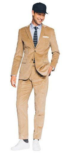 Tan Corduroy Suit