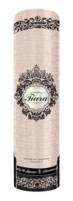 Tiara-Fifty/50 Diamond Intensifier - Powerful melanin enhancing ingredients blended in just the right amounts to work together synergistical...