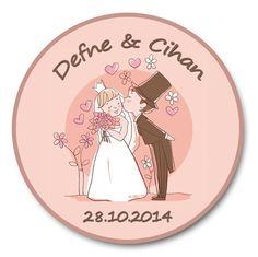 Show details for Gentle Kiss | Düğün, Nişan, Nikah Sticker