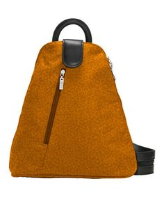 Take a look at this Butterscotch Cheetah Urban Backpack by baggallini on #zulily today! $40 !!