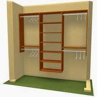 Closet model for Maddie's Room DIY Closet Storage Organization, Closet Design. New York, NY - Three Unit Closet Bedroom, Closet Space, Boys Closet, Ikea Closet, Front Closet, Closet Doors, Closet Storage, Closet Organization, Organizing