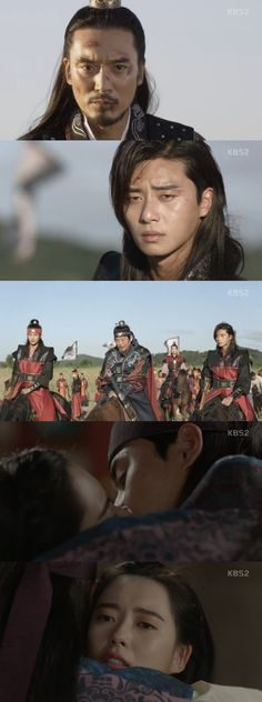 "[Spoiler] ""Hwarang"" Park Seo-joon and Go Ara kiss @ HanCinema :: The Korean Movie and Drama Database"