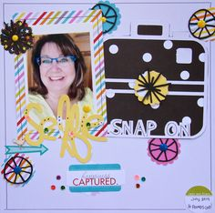 The Cut Shoppe: Selfie by Lee-Anne Thornton using the Selfies & Usies and Going in Circles cut files.