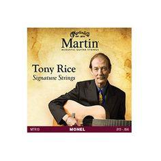 Martin MTR13 Retro Acoustic Guitar Strings Tony Rice Signature Medium 13-56