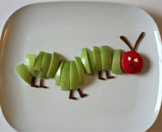 The Very Hungry Caterpillar Fruit Snack Recipe