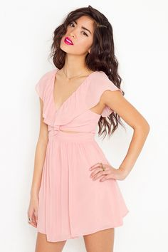 Sweet ruffled dress