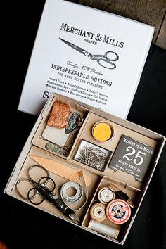 Weiteres - Selected Notions Box Set - ein Designerstück von stoffsalon bei DaWanda