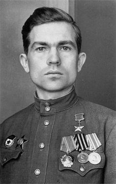 Héroe de la Unión Soviética Grigory Burmak